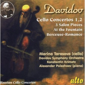 ダヴィドフ/チェロ協奏曲第1&2...